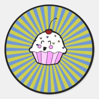 autocollant de petit gâteau