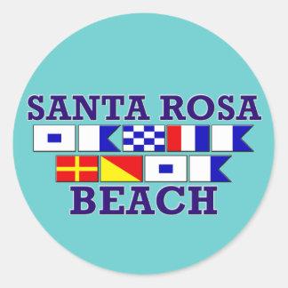 Autocollant de plage de Santa Rosa