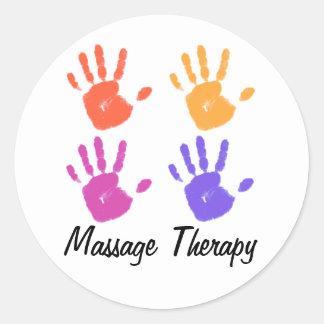 Autocollant de thérapie de massage
