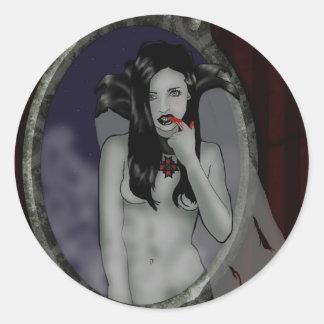 autocollant de vampire
