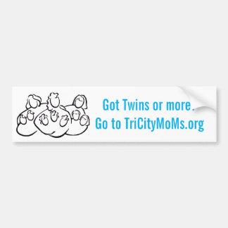 Autocollant De Voiture Adhésif pour pare-chocs de mamans de Tri Ville