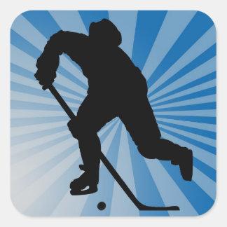autocollant d'hockey