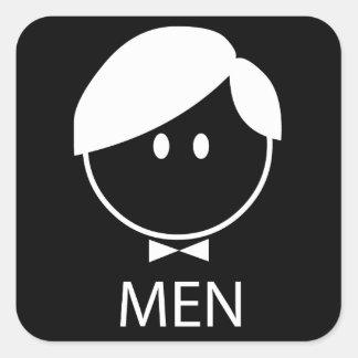 Autocollant d'hommes