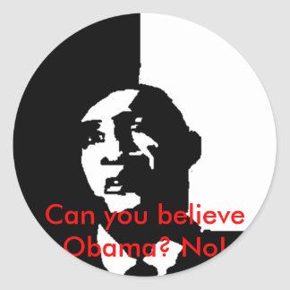 Autocollant d'Obama