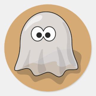 Autocollant mignon de fantôme