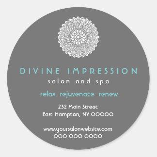 Autocollant promotionnel d'impression divine