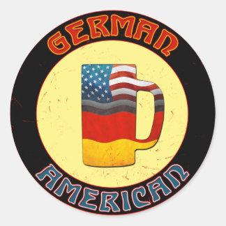 Autocollants allemands de Stein d'Américain