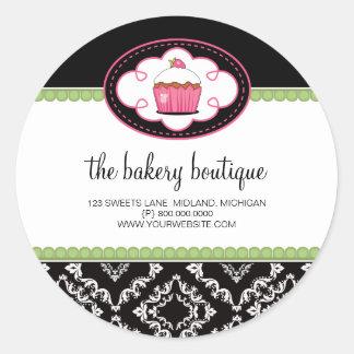 Autocollants d affaires de boutique de boulangerie