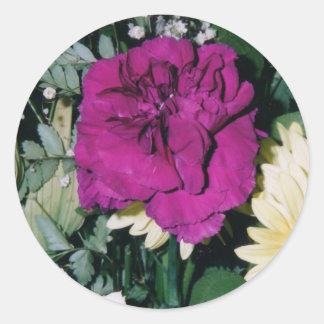 Autocollants de bouquet