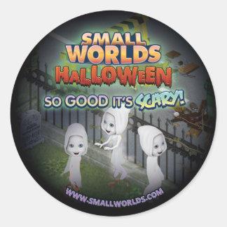 Autocollants de fantôme de SmallWorlds Halloween