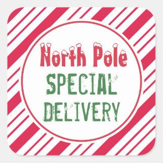 Autocollants de la livraison spéciale de Pôle Nord