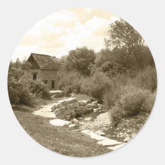 Autocollants de moulin à eau