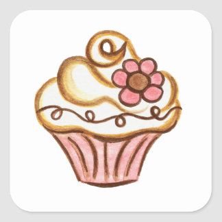 Autocollants de petit gâteau