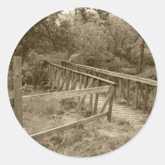 Autocollants de pont