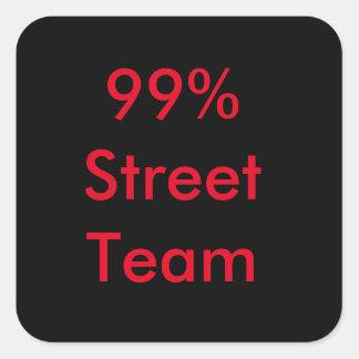 Autocollants d'équipe de rue