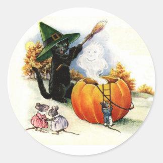 Autocollants doux de Halloween