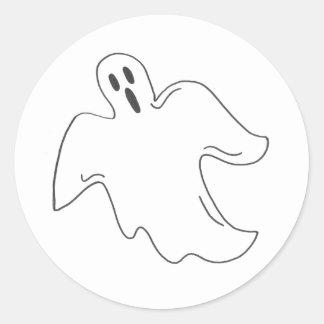 Autocollants éffrayants de fantôme de Halloween
