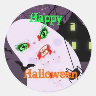 Autocollants éffrayants de partie de Halloween -