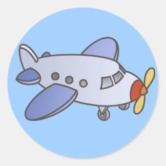 Autocollants élevés volants d avion