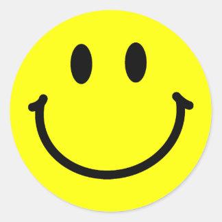Autocollants heureux de visage