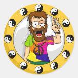 Autocollants hippies