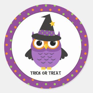 Autocollants mignons de Halloween de des bonbons
