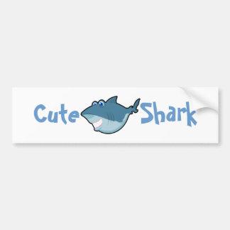Autocollants mignons de requin autocollant de voiture