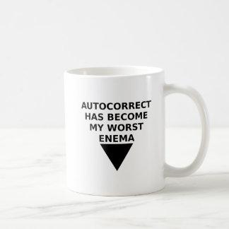 Autocorrected Enemy Funny Mug