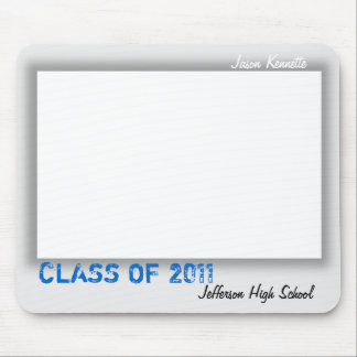 Autograph Graduation Mousepad Grey