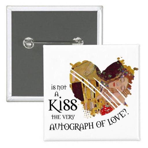 Autograph of Love Button