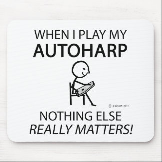 Autoharp Nothing Else Matters Mouse Pad