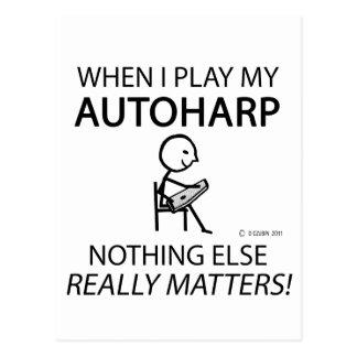 Autoharp Nothing Else Matters Postcards