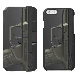 Automatic Hand Gun Incipio Watson™ iPhone 6 Wallet Case