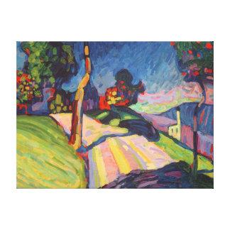 Automne Landscape, Murnau, 1908 Toiles Tendues