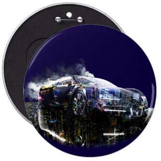 Automobile 6 Inch Round Button