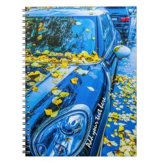 Automobile, Car - Season Of Fallen Leaves Notebook