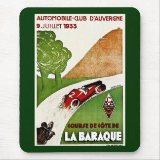 Automobile Club D'Auvergne 1933 Mousepads