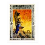 Automobile Club de France 1899 Postcard