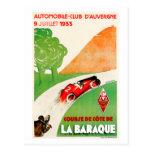 Automobile Club ~ Vintage Car Advertisement Postcard