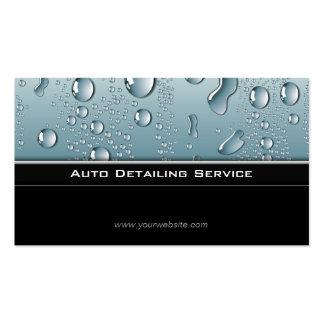Automobile détaillant la voiture des véhicules à carte de visite standard