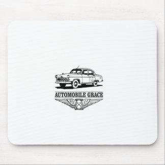 automobile grace fun mouse pad