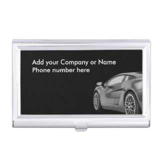 Automobile Theme Business Card Case