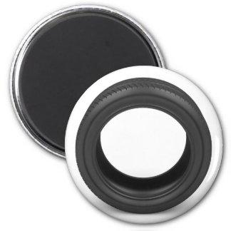 Automobile tire magnet
