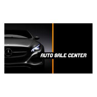 Automobile, voiture, carte de visite de revendeur