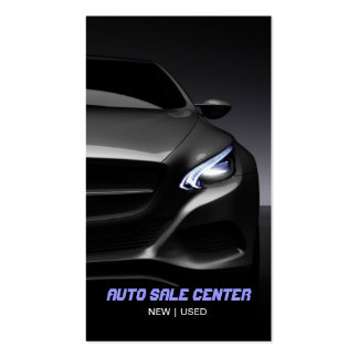 Automobile voiture carte de visite de revendeur