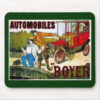Automobiles Boyer - Vintage Mouse Pad