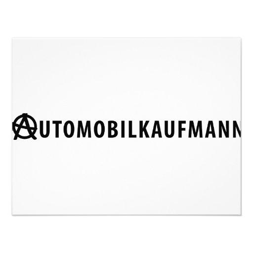 Automobilkaufmann icon invite