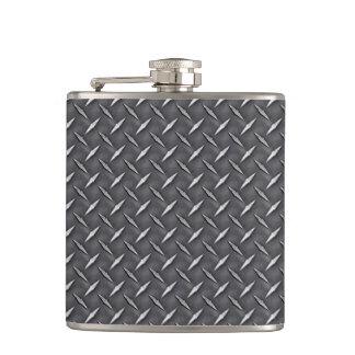 Automotive Diamond Steel Raw Zinc Metal Plate Hip Flask