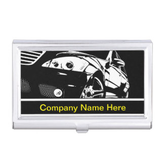 Automotive Industry Business Card Case