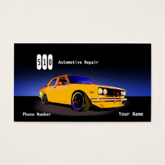 Automotive Repair Business Card